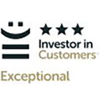 Investor In Customers - 3 star accreditation - 2013