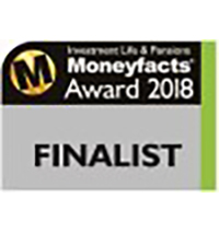 Moneyfacts Investment Life & Pensions Finalist 2018